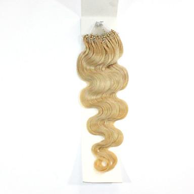 Extensions de cheveux humains Cheveux humains 100 18