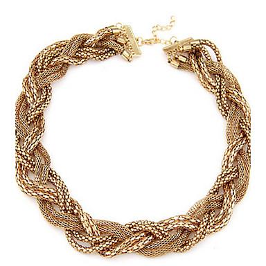 Dame Kædehalskæde Legering Mode Europæisk Smykker Til Bryllup Fest Daglig Afslappet