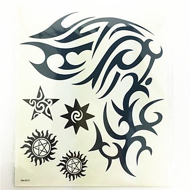 #(1) Muster Waterproof Totem Serie Tattoo Aufkleber