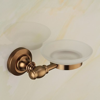 Såpe Skåler & Holdere Antikk Aluminium / Sinklegering 1 stk - Hotell bad