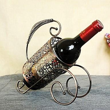 novi modni retro bronca vino stalak kontinentalna željezne ukrase vino stalak serija za uređenje doma