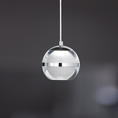 Umei esfera l mparas colgantes luz ambiente cromo metal - Luces de ambiente ...