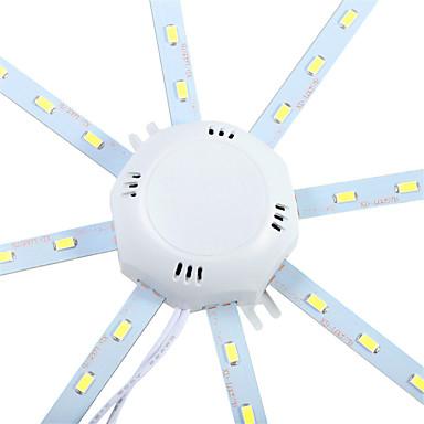 YWXLIGHT® 1pc 10 W 960 lm 24 LED perler SMD 5730 Dekorativ Kjølig hvit 220-240 V / 1 stk. / RoHs