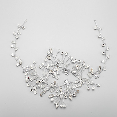 preiswerte Haarschmuck-Kristallrhinestone-Legierungsstirnband-Kopfstückklassiker weiblicher Art