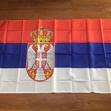 Serbian tasavallan lippu, SRB bannerin, serbian lippu