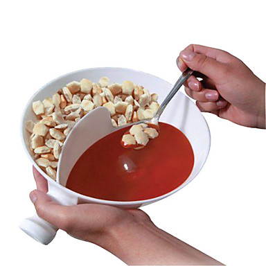Kunststoff handlich Gourmet krispy Schüssel Geschmack getrennt Würze Schalen