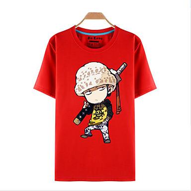 Inspiré par One Piece Roronoa Zoro Manga Costumes de Cosplay Cosplay T-shirt Imprimé Manches Courtes Haut Pour Homme / Femme