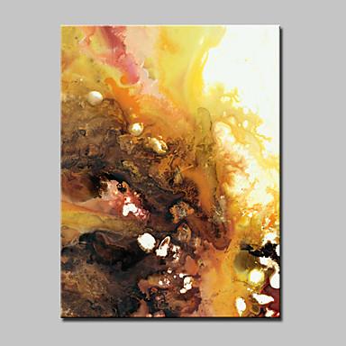 מצויר ביד מופשט / נוף אבסטרקט / Popמודרני פנל אחד בד ציור שמן צבוע-Hang For קישוט הבית