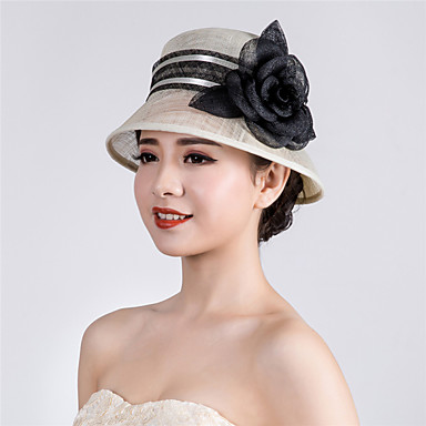 Flax Net Hats 1 Wedding Special Occasion Casual Outdoor Headpiece ... 9d3dd0a1c04