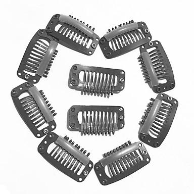 Clips 发卡 Instrumentos  para Extensão Cobre 10 Ferramentas perucas de cabelo