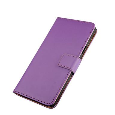 Varten Nokia kotelo Lomapkko / Korttikotelo / Tuella Etui Kokonaan peittävä Etui Yksivärinen Kova Tekonahka Nokia Nokia Lumia 950