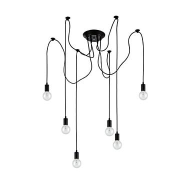 Retro Unterputz Für Wohnzimmer Esszimmer Studierzimmer/Büro Inklusive Glühbirne