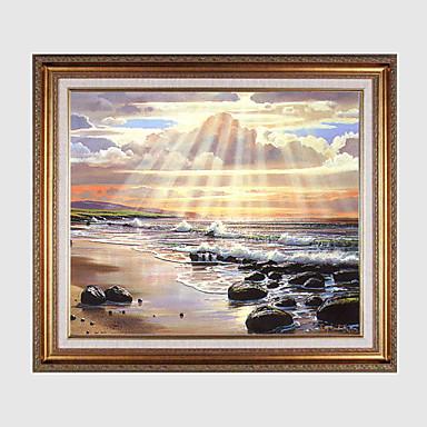 Kukkakuvio/Kasvitiede Maisema Wall Art materiaali Frame For Kodinsisustus Frame Art Living Room Ruokailuhuone Makuuhuone Lastenhuone 1