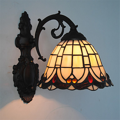Tiffany Wandlampen Für Metall Wandleuchte 110-120V 220-240V Max 60WW