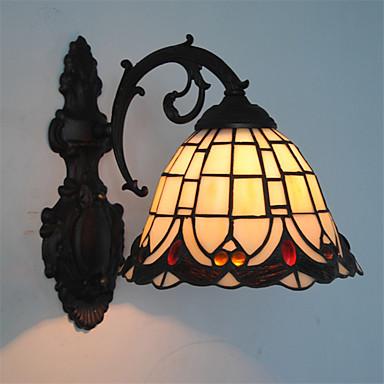 Tiffany Vegglamper Metall Vegglampe 110-120V / 220-240V Max 60W