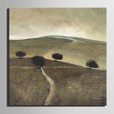 Håndmalte LandskapEuropeisk Stil Et Panel Lerret Hang malte oljemaleri For Hjem Dekor