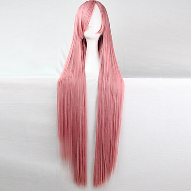 90a3e431f16 anime cosplay wig chisato 100 cm long straight hair high temperature wire  Halloween