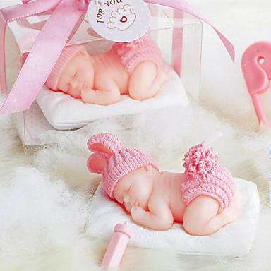 Dárky pro novorozeně Svíčka ODMĚNY Piece / Set Svíčky Nepřizpůsobeno Růžová / Modrá