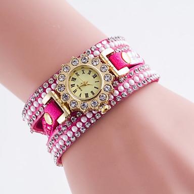 Dame ' Modni sat Kvarc PU Grupa Crna / Bijela / Plava / Crvena / Smeđa / Pink / Rose Brand-