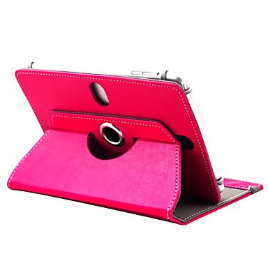מגן עבור כיסוי מלא מקרי Tablet צבע אחיד קשיח עור PU ל
