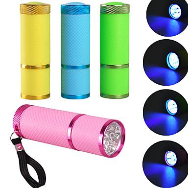 9 UV Lámpa lm Mód - Könnyű Szabadtéri Sárga Zöld Kék Rózsaszín