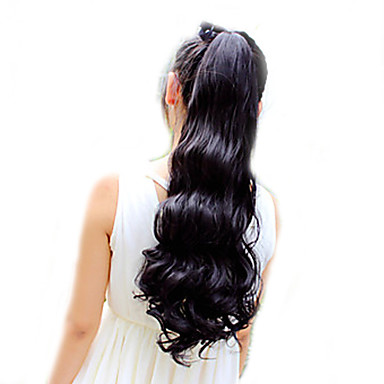 Fashion Tether Ringlet Horsetail  55 CM