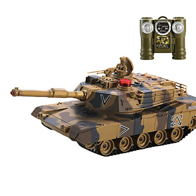 controle remoto carro modelo do tanque, ca brinquedo de controle remoto, o metal contra os tanques (l) - os estados unidos 1