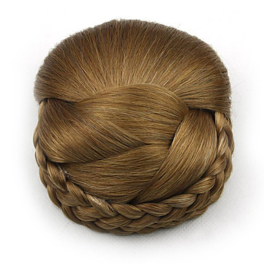 verworrene lockige Gold Europa Braut Perücken menschliches Haar capless Chignons sp-159 2005