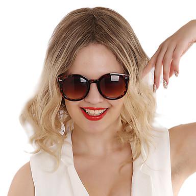 Damen Synthetische Perücken Kappenlos Kurz Wellig Blondine Kostüm Perücken
