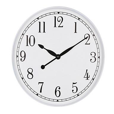 Moderne/Contemporain Autres Horloge murale,Rond Horloge