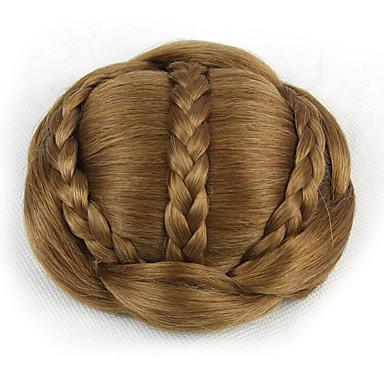 verworrene lockige Gold Europa Braut Perücken menschliches Haar capless Chignons sp-189 2005
