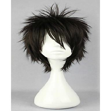 Szintetikus parókák Göndör Réteges frizura Sűrűség Női Carnival Paróka Halloween paróka jelmez paróka Szintetikus haj