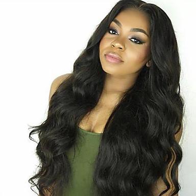 νέα μη επεξεργασμένων ειδών 10-30inch 100% μπροστινή περούκα βραζιλιάνα κύμα δαντέλα ανθρώπινο σώμα μαλλιά& περούκα u μέρος για τις