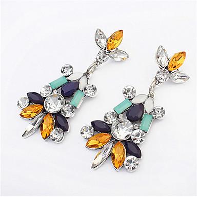 אופנה תכשיטים קלאסי לא סדיר צמח גיאומטרי פרחים ירידה עגילים תכשיטים מתקדמים