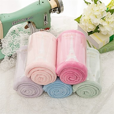 Vaskehåndklæ,Broderi Høy kvalitet 100% Korall Fleece Håndkle
