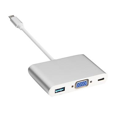 Tipo c ao cabo VGA / USB 3.0 / dp