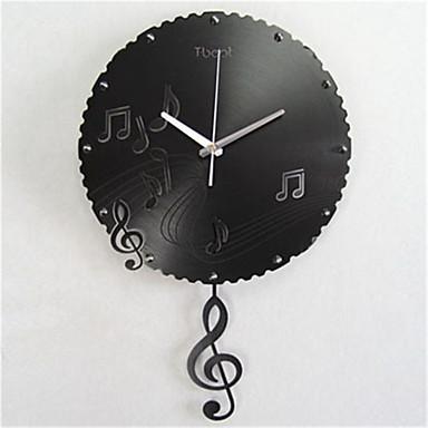 Moderno/Contemporâneo Outros Relógio de parede,Outros Metal Relógio