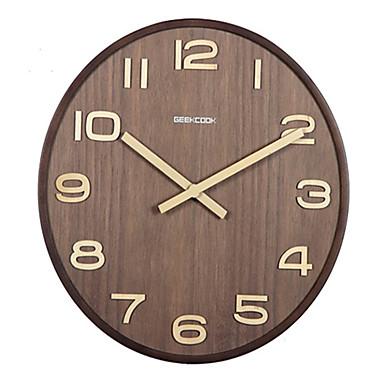 Modern/Zeitgenössisch Anderen Wanduhr,Anderen Holz Uhr