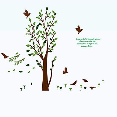 Veggoverføringsbilde Køleskabs klistermærker - Animal Wall Stickers Dyr Still Life Mote Blomster Ord & Citater Tegneserie fritid Botanisk
