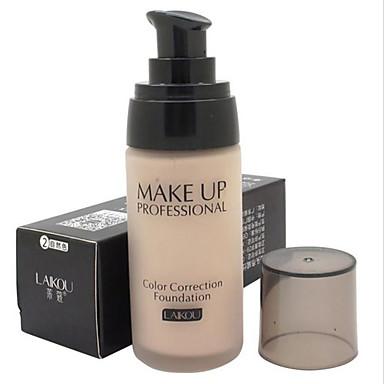1 Grundierungen Nass Flüssigkeit Weiß machen Feuchtigkeit Abdeckung Öl Kontrolle Concealer Unebener Hautton Natürlich Porenreduzierung