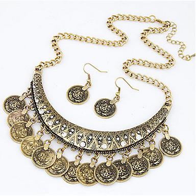 Damen Schmuckset Halskette / Ohrringe Niedlich Party Freizeit Europäisch Party Alltag Normal Aleación Halskette Ohrringe Halsketten
