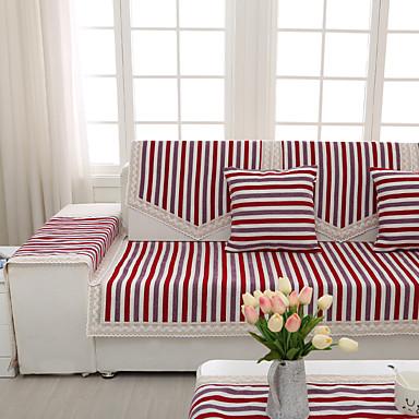 כיסוי ספה , תערובת של כותנה ופוליאסטר סוג בד כיסויים