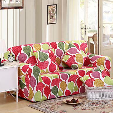 Moderne Polyester Housse de Sofa , Elastique Floral / Botanique A Motifs Literie