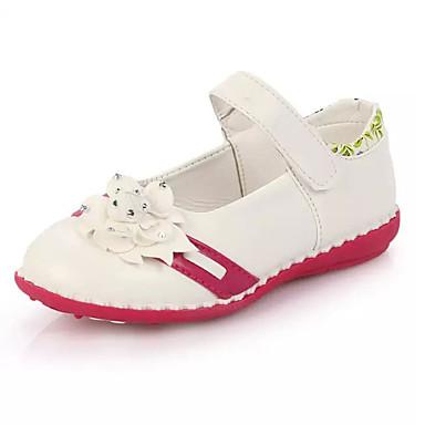 Fiú Lány cipő PU Tavasz Nyár Ősz Kényelmes Lapos mert Sport Hétköznapi Fehér Rózsaszín