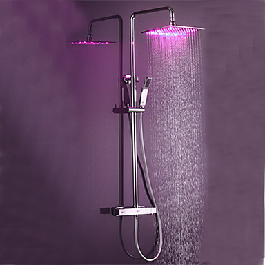 Grifo de ducha - Moderno Cromo Sistema ducha Válvula Cerámica