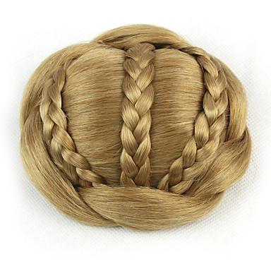 Goldenbraun Klassisch Haarknoten Gute Qualität Chignons / Haarknoten Haarstück Haar-Verlängerung Klassisch Alltag