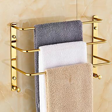 מתלה מגבת עכשווי פליז יחידה 1 - אמבטיה בר מגבת 3