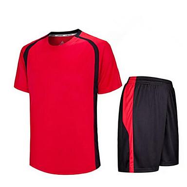 לילדים כדורגל מדים בסטים נושם ייבוש מהיר אביב קיץ סתיו חורף טרילן כושר גופני ספורט פנאי כדורגל ריצה