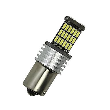 2x weiß 1156 g18 ba15s 45 4014 LED-Signalrücklichtbirne D068 12-24V drehen