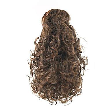 Mit Clip Pferdeschwanz Elasthan Bärenkralle / Kieferclip Synthetische Haare Haarstück Haar-Verlängerung Locken